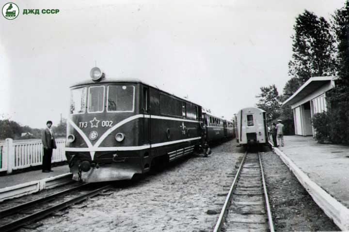 Тепловоз ТУ3-002 привёл поезд